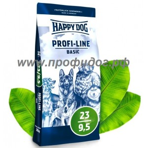 Happy Dog Профи Базис 23/9,5, 20 кг