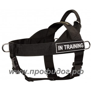 Многоцелевая нейлоновая шлейка для собак ForDogTrainers