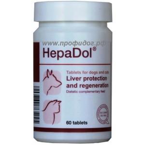 ГЕПАДОЛ (HepaDol) Dolfos при заболеваниях печени собак и кошек