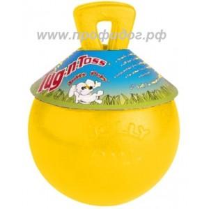 Игрушка - мяч с ручкой Jolly Tug-N-Toss Ball, 11,5 см