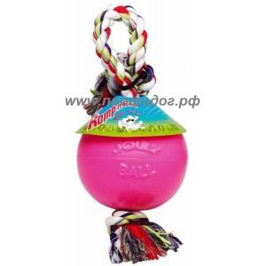 Игрушка - мяч на канате, для собак,  Romp-n-Roll Ball,  11,5 см
