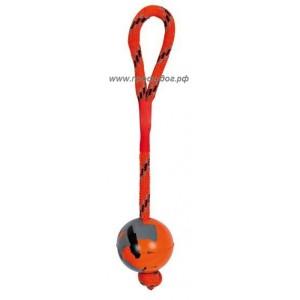 Цельный резиновый мяч для собак, 6 см