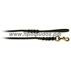 Поводок кожаный ринговый Schweikert, 11мм х 300 см