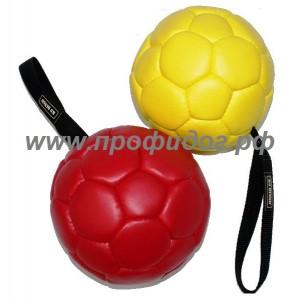 Мяч кожаный DINGO-K9, 18 см