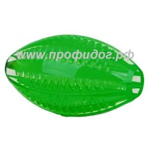 Дентальная игрушка для собак мяч для рэгби Denta Fun