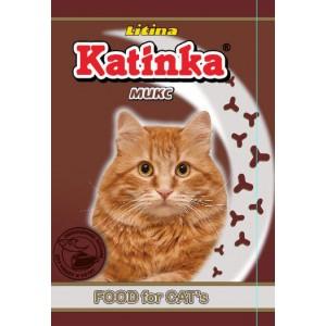 Сухой корм для кошек Katinka (микс)
