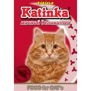 Сухой корм для кошек Katinka (мясной деликатес)