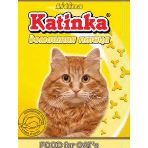 Сухой корм для кошек Katinka (домашняя птица)