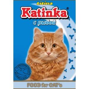 Сухой корм для кошек Katinka (с рыбой)