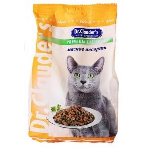 Dr.Clauder's сухой корм для кошек мясное ассорти
