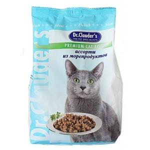 Dr.Clauder's сухой корм для кошек ассорти из морепродуктов