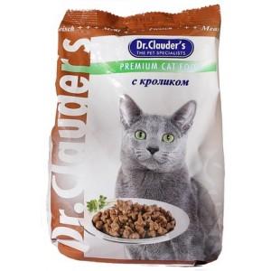 Dr.Clauder's cухой корм для кошек с кроликом