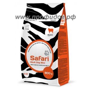 Повседневный корм SAFARI для взрослых собак мелких пород ЯГНЕНОК