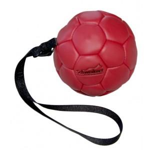 Мяч кожаный для собак Schweikert, 14 см