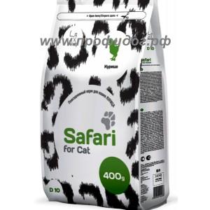 Повседневный корм SAFARI для кошек КУРИЦА