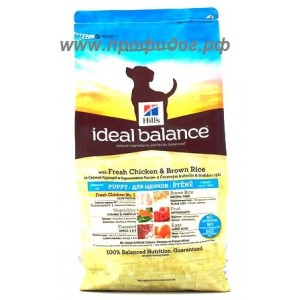 Ideal Balance Puppy with Fresh Chicken & Brown Rice