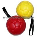 Мяч кожаный для собак DINGO-K9,13 см